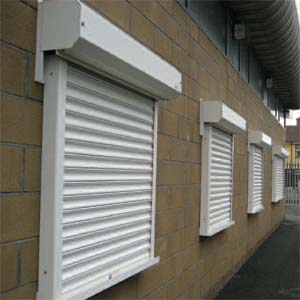 Commercial Roller Shutter Window Dublin, Ireland